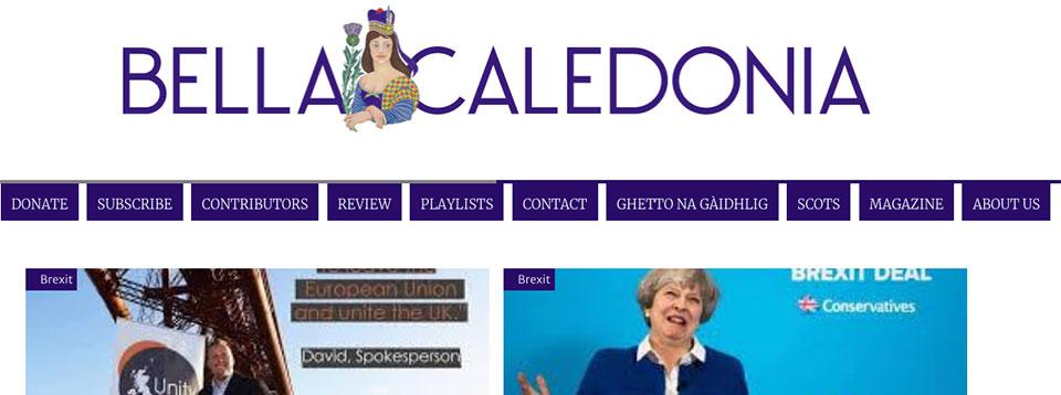 Bella Caledonia .org .uk