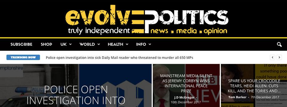 Evolve Politics .com